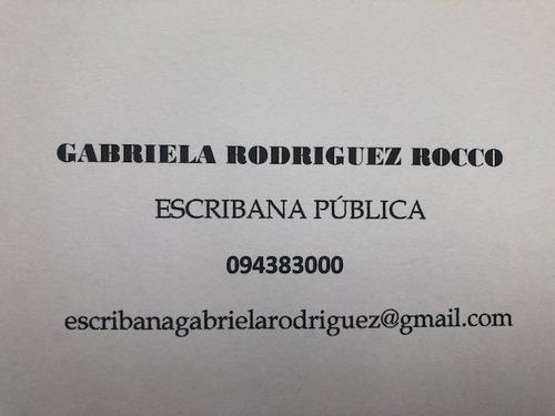 gabriela rodriguez rocco   escribana publica