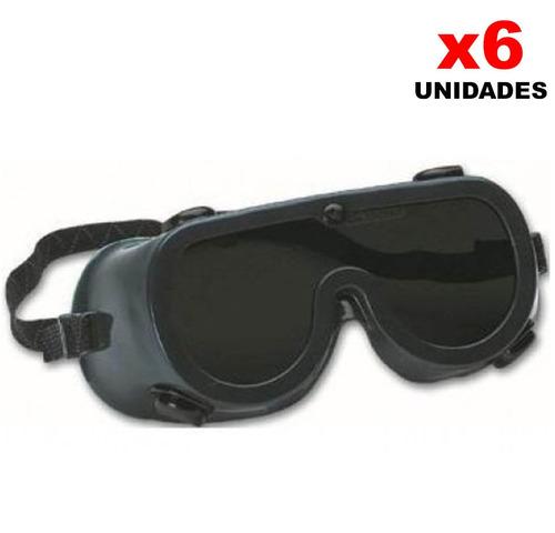 gafa para soldar toolcraft x 6 unidades