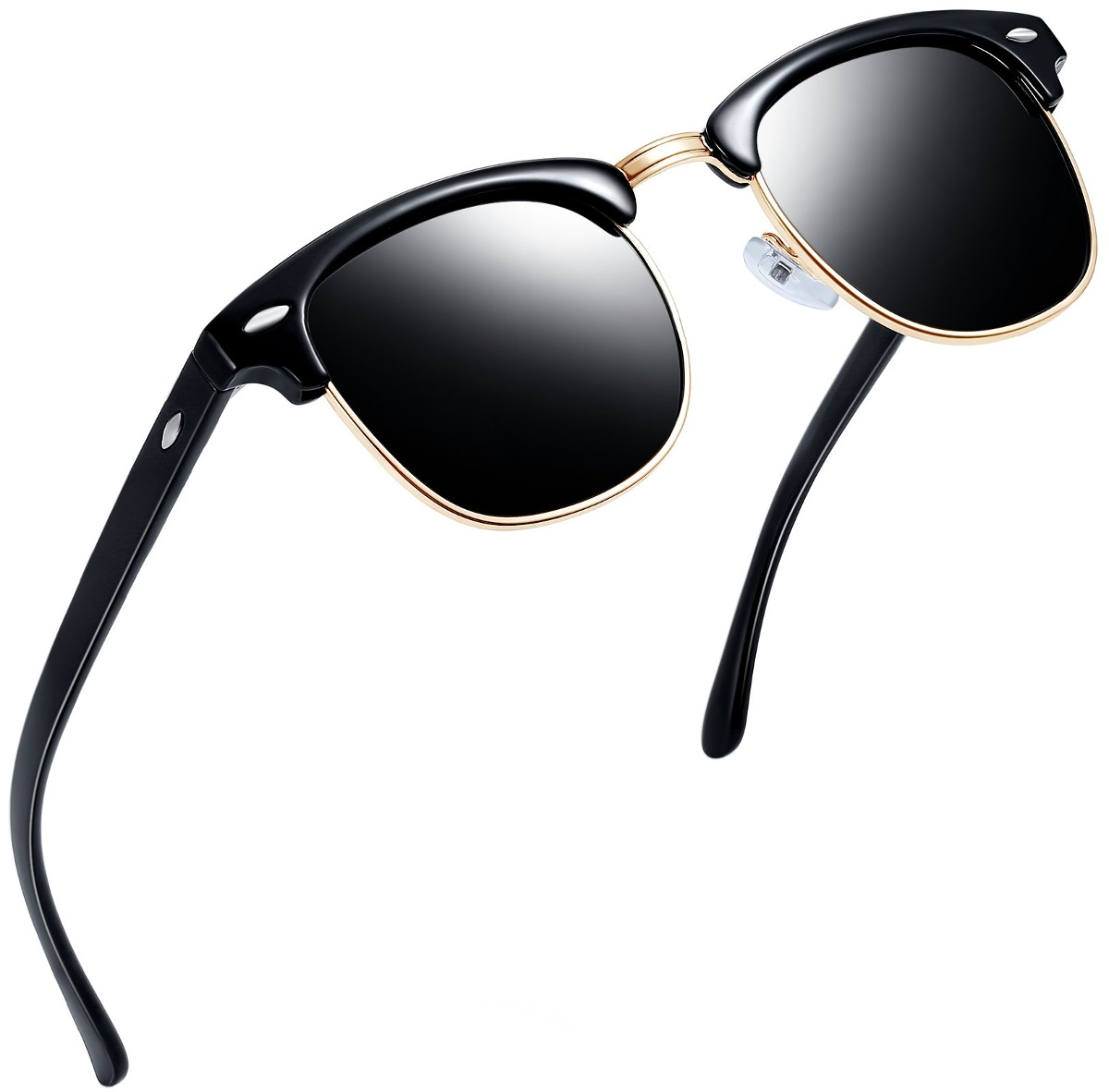 c5fbd50358 Gafas De Sol Retro Marca Joopin Semi Montura Gafas De Sol - U$S 45 ...