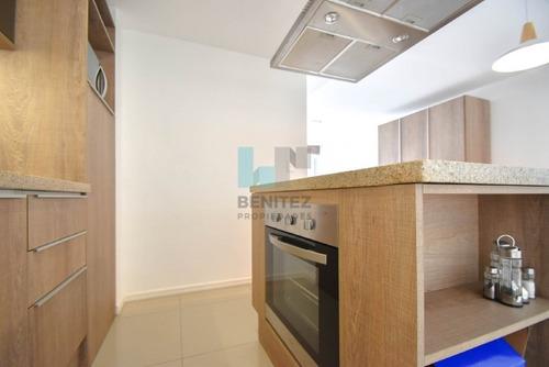 gala puerto! apartamento equipado de 1 dormitorio en venta. moderno edificio. zona puerto. - ref: 7987