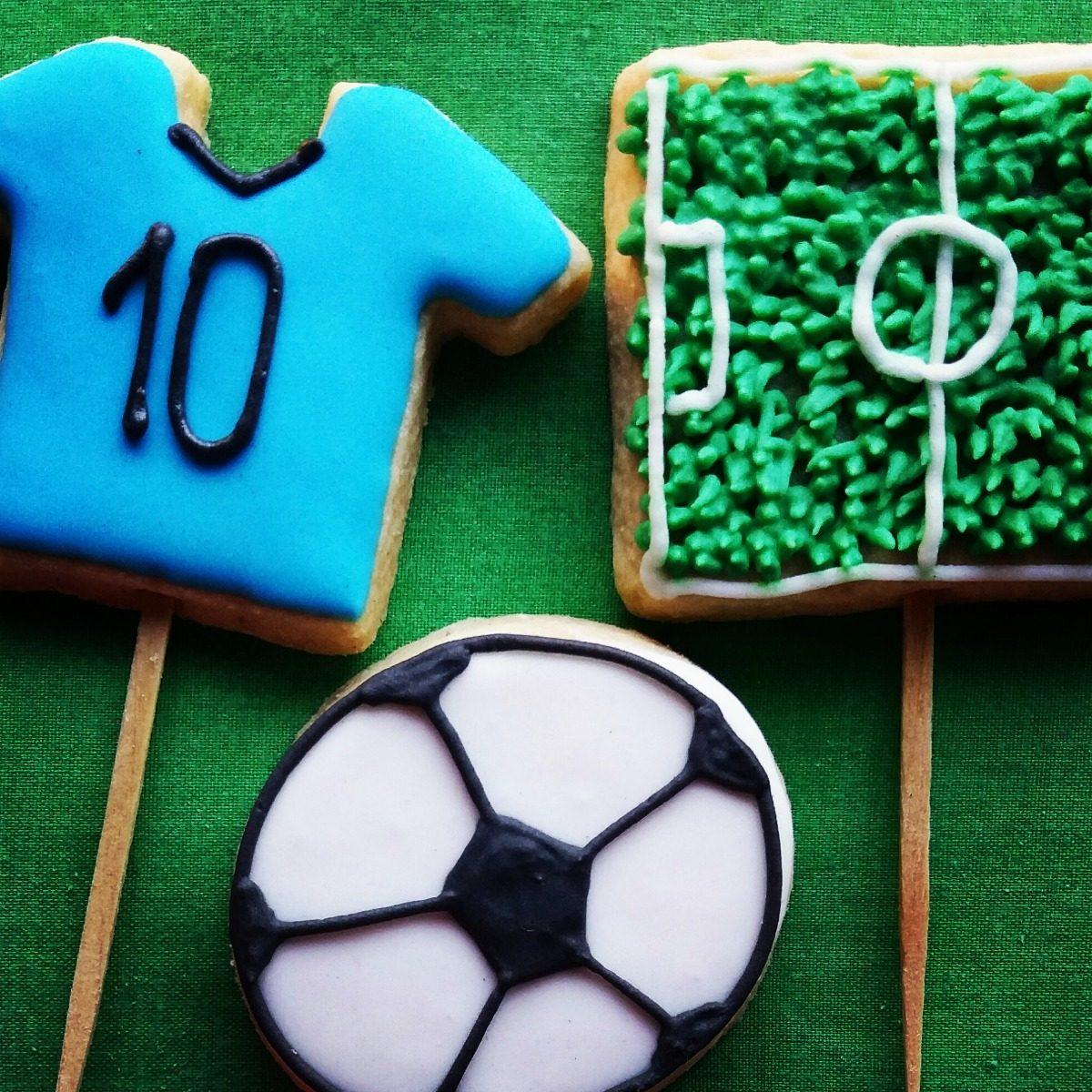 Galletas Decoradas Cumpleaños Souvenirs Unicornio Futbol