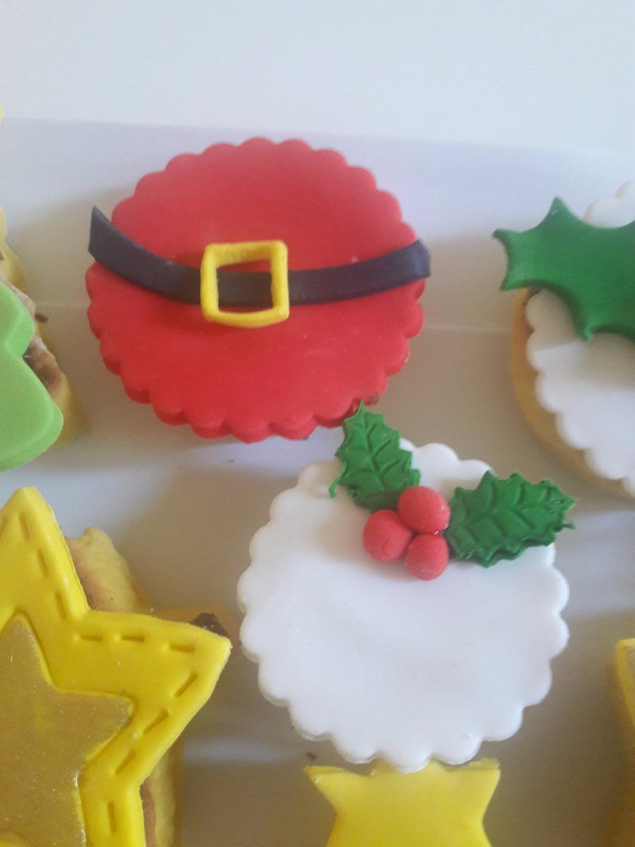 Galletas Decoradas Navidad Papa Noel