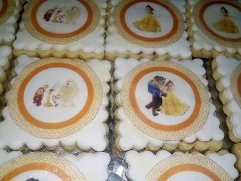 Galletas Decoradas Personalizadas Cumpleaños Infantiles