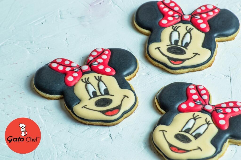 Galletas Decoradas Personalizadas Mickey Minnie Mouse
