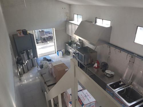 galpon industrial 80 m2 con oficinas y sector para elaborar