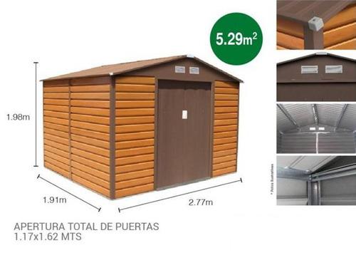 galpones prefabricados deposito garaje jardin o uso agricola