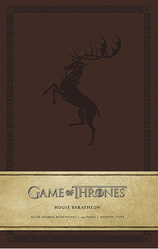game of thrones ruled journal : house of baratheon