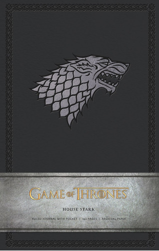 game of thrones ruled journal : house of stark