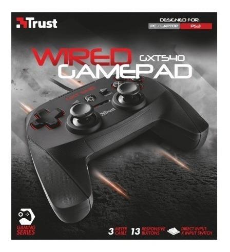 gamepad gxt540 ps3 y pc  -trust-  netpc mercado pago