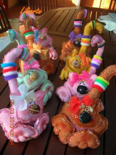 gatitas porta colitas, decoración infantil