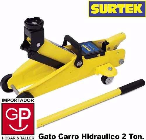 gato carro hidráulico 2 toneladas surtek g p