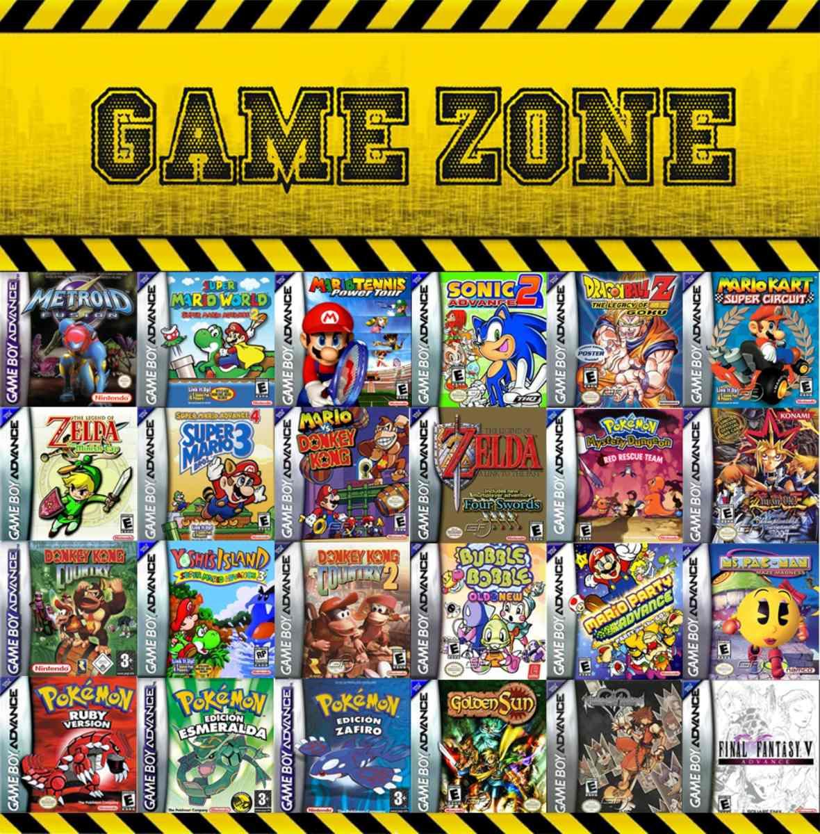 Gba Juegos Originales Por Pedidos Y Stock 800 00 En Mercado Libre
