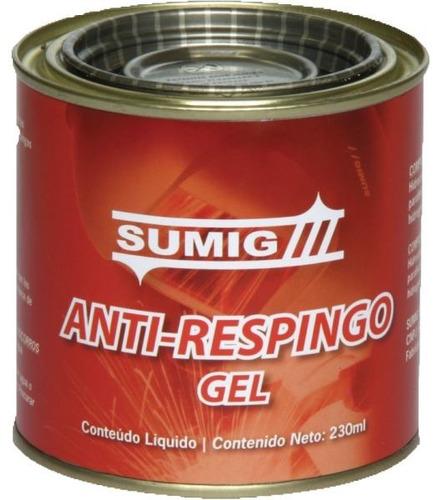 gel antiadherente antirrespingo para mig sin silicona sumig