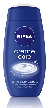 gel de ducha nivea creme care 250 ml