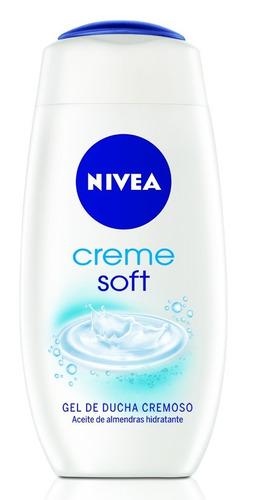 gel de ducha nivea creme soft 250 ml