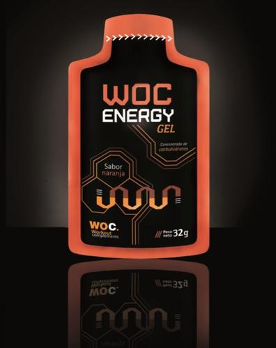 gel energético woc - sachet de 32 gr (frutilla y naranja)
