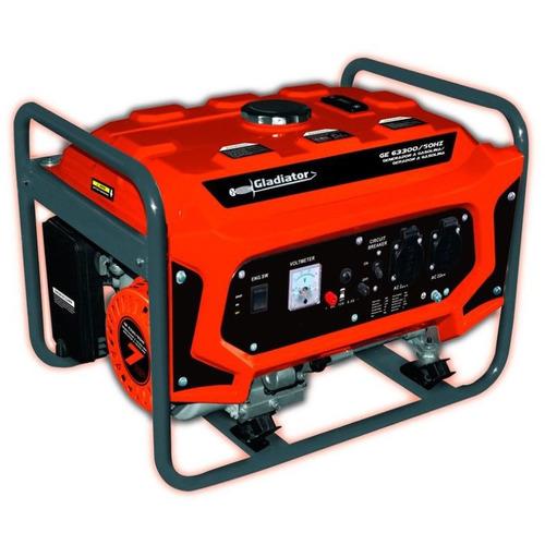 generador a nafta gladiator ge63300 3.1w centrocolor