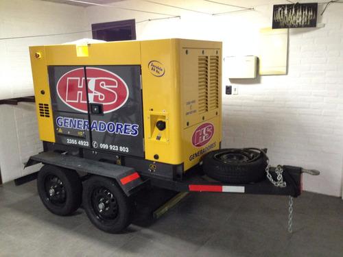 generador con trailer