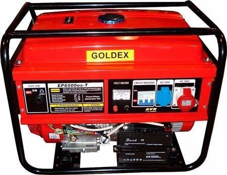 generador de corriente 5;5kw jlep6500es goldex