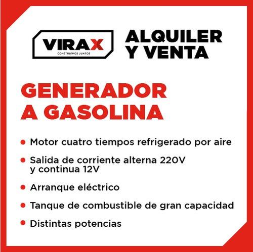 generadores, electricidad, alquiler, venta, virax