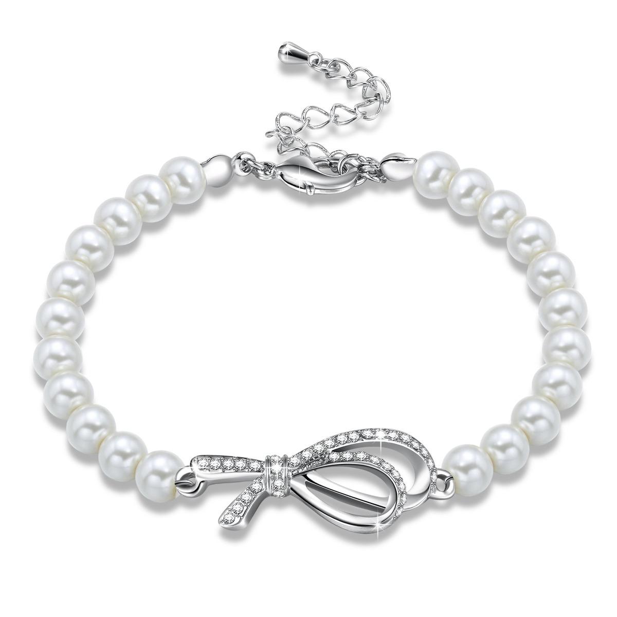 21bc99a9efc9 george smith forever young pulsera de perlas blancas cu. Cargando zoom.