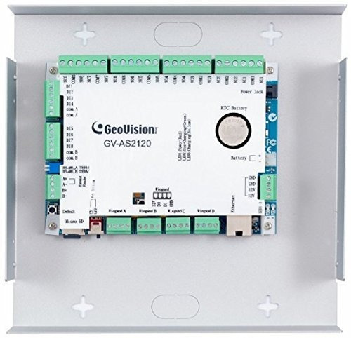 geovision gv as2120 | ip access control panel 8 built in