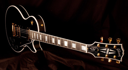 gibson les paul custom ebony made in usa