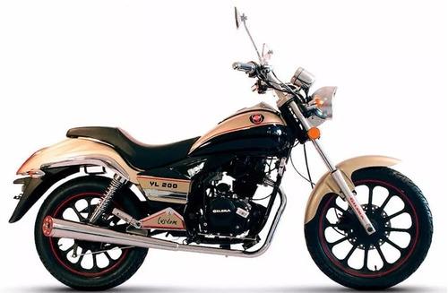 gilera yl 200 0km custom chopera 2017 0 km 999 motos quilmes