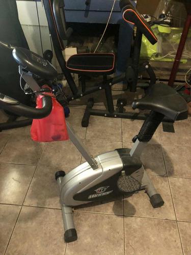 gimnasio multifuncion y bicicleta ergometrica