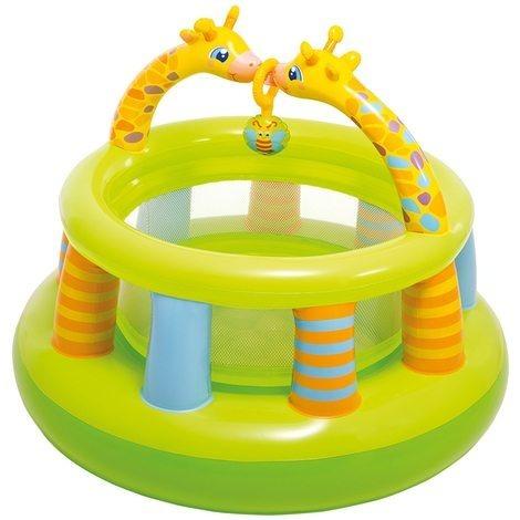 gimnasio para bebes inflable redondo intex 48474 corralito