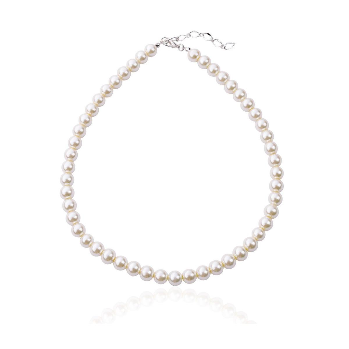 a0a5076709a0 ginasy simulado collar de perlas para mujeres niñas - cue. Cargando zoom.