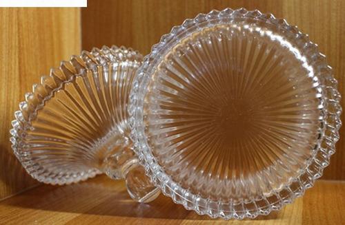 glass sugar bowl detalhes dourado