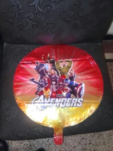 globo de helio avengers heroes