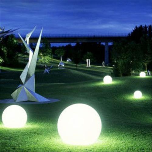 globo esferas lampara led flotante eventos recargable 25 cm
