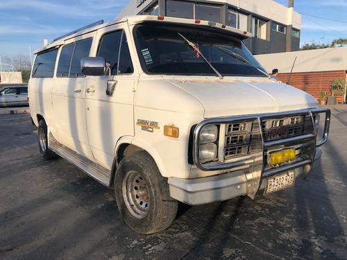 gmc chevy van 6.2  diesel ideal motor home !! aerocar año 76