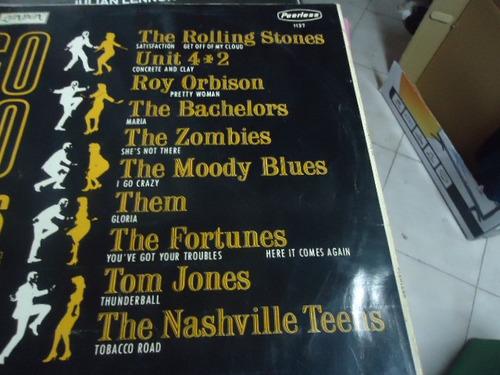 go go en ingles vinyl de 12 , de 33 rpm. artistas varios