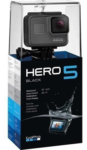 go pro hero 5 black edition/ 4 k /12mp/nueva/sellada/