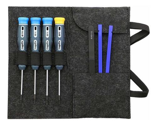 GogoFix Destornilladores de 4 piezas con tornillos de caja inferior para MacBook Retina 15 A1707