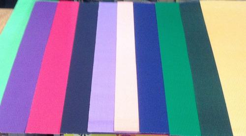 goma eva lisa 60x40 paquete 60 unidades colores a  eleccion