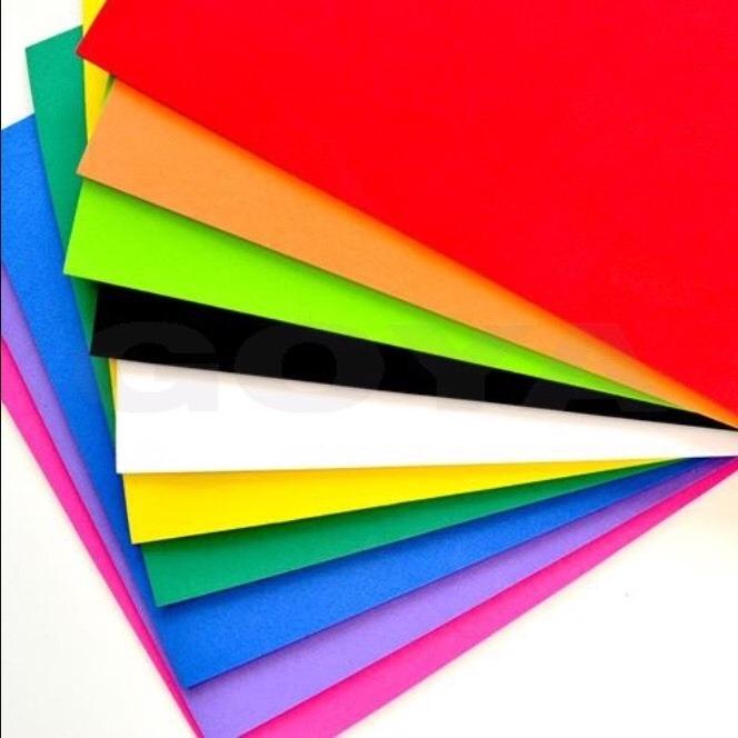 Goma Eva Lisa A4 Colores Surtidos Paquete 10 Hojas 4500 En - Fotos-de-goma-eva