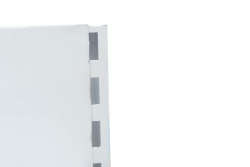 góndola contra pared, estantería, exponedor c/detalles
