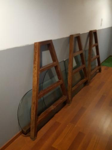 gondola madera caballetes y vidrios 10m
