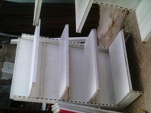 gondolas de 4 estantes 1700