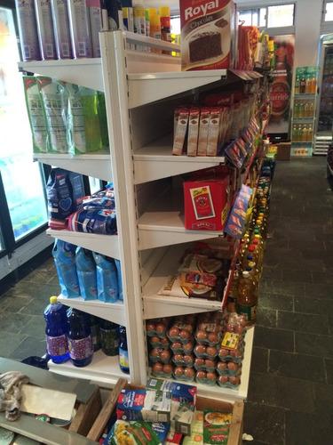 gondolas para supermercado doble faz 1 mt 70 alto