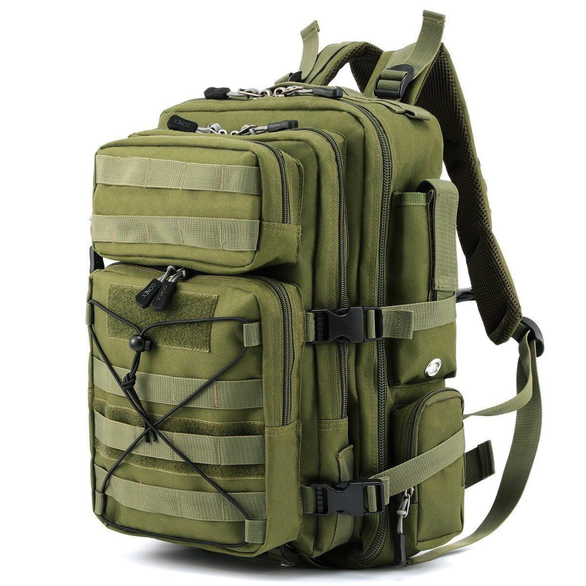mejor selección 9180e 85ae6 Gonex Tactical Mochila Militar Mochila, Molle Bug Out Moc