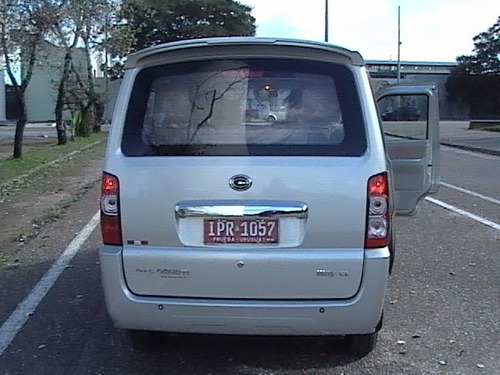 gonow mini van way