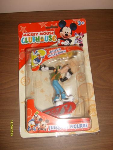 goofy en patineta - club house mickey mouse - valmada shop