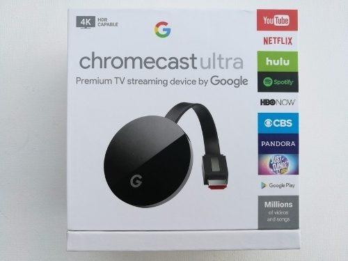 google chromecast ultra 4k tv video netflix nuevo zonalaptop