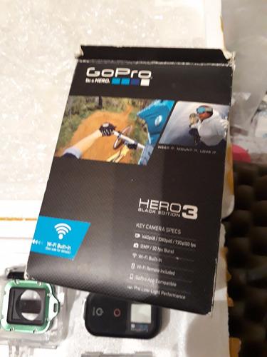 gopro hero 3 black edition completaa!!