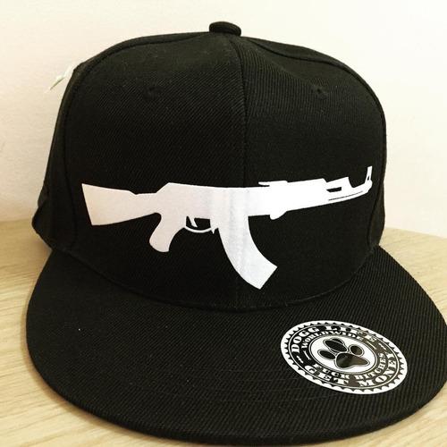 gorra plana ak47 dogg life gangsta rap hiphop old school